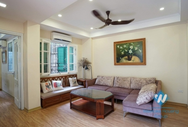 A nicely 3 bedroom apartment duplex style for rent in Ba Dinh District