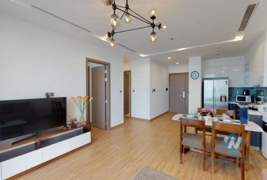 Nice and luxury one bedroom apartment for rent in Vinhome Metropolis, Ha Noi