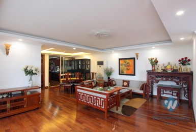Large size two bedrooms apartment for rent in Trich Sai street, Tay Ho district, Ha Noi