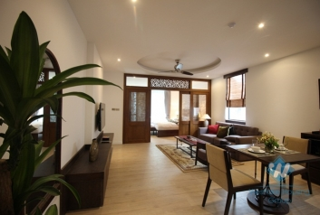 Authentic 01 bedroom apartment for rent in Hoan Kiem