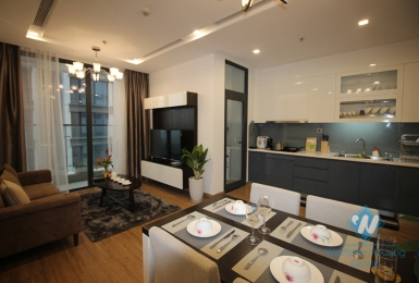Luxury one bedroom apartment for rent in Vinhome Metrpolis, Ba Dinh district, Ha Noi