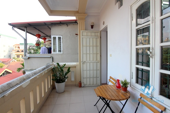One bedroom apartment for rent in Trich Sai street, Tay Ho, Ha Noi