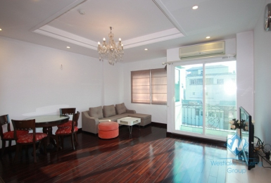 Cozy one bedroom apartment with big size for rent in Hoan Kiem, Ha Noi