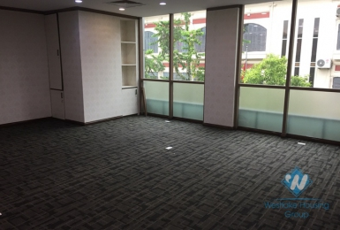 An office for rent in Tran Quoc Toan street, Hoan Kiem district, Ha Noi