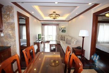 Luxury two bedrooms apartment for rent in Hoan Kiem district