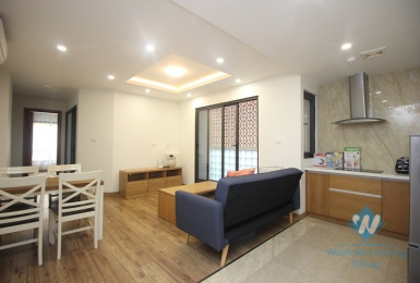 New two bedrooms apartment for rent in Hoan Kiem district, Ha Noi