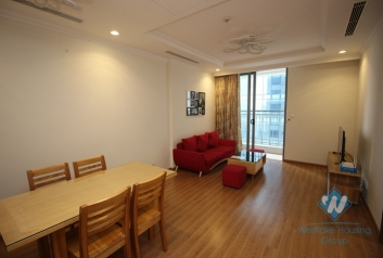 Modern apartment for rent in Vinhome Nguyen Chi Thanh - Dong Da district