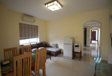 Bright and clean two bedrooms apartment for rent in Hai Ba Trung district, Ha Noi