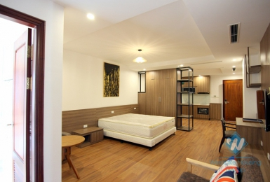 A nice and clean studio apartment for rent in quite area, Tay Ho, Ha Noi
