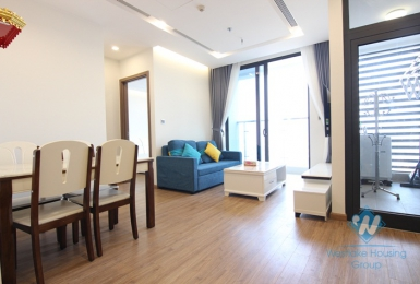 Furnished one bedroom apartment for rent in Vinhome Metropolis, Ba Dinh district, Ha Noi