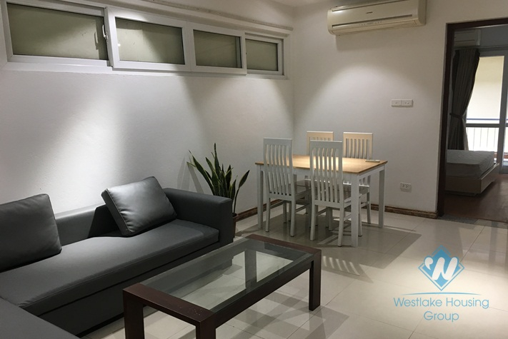 Two bedrooms apartment for rent in Tran Phu street, Ba Dinh district, Ha Noi
