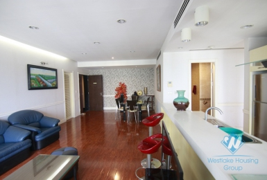 Lake view two bedrooms apartment for rent in Golden Westlake, Ha Noi
