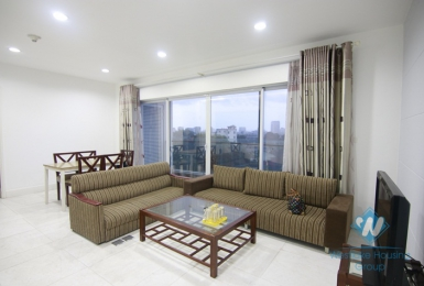 Furnished one bedroom apartment for rent in Golden Westlake, Thuy Khue street, Ha Noi