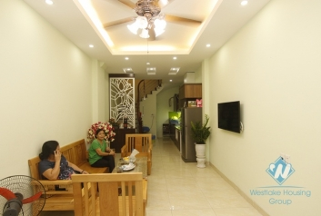 Three bedrooms house for rent in Ngoc Thuy, Long Bien district, Ha Noi