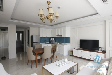 High floor luxury two bedrooms apartment for rent in city center, Hoan Kiem district, Ha Noi
