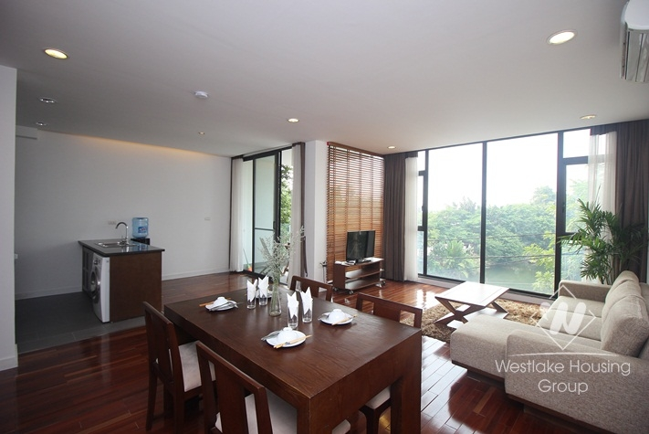 Modern lake view apartment for rent in Tay Ho, Hanoi