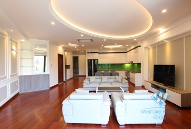 Large two bedrooms apartment for rent in Yen Phu village, Tay Ho, Ha Noi