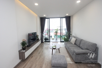 Lake view 2 bedrooms apartment with morden equiped for rent in Tay Ho area.