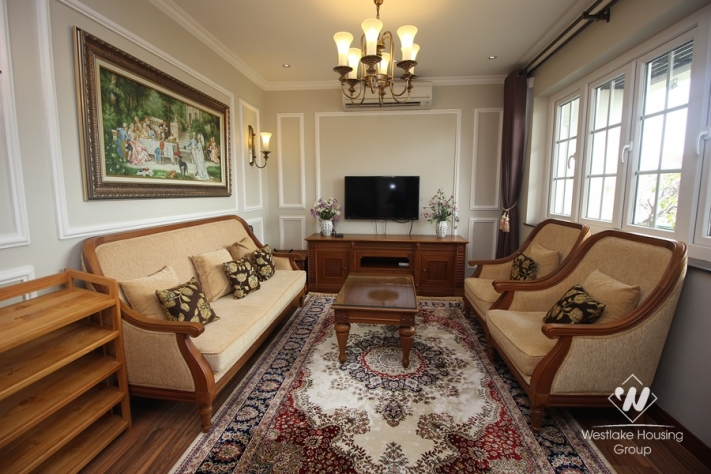 Luxury one bedroom apartment for rent near Vincom Center Hai Ba Trung district, Ha Noi