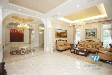 Spacious villa for rent in Ciputra, Tay Ho
