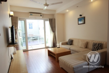 Two bedroom apartment for lease in Hoang Hoa Tham street, Ba Dinh, Hanoi