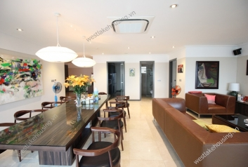 A beautiful apartment for rent in L Ciputra
