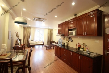 Cute apartment for rent in Truc Bach lake, Ba Dinh, Hanoi