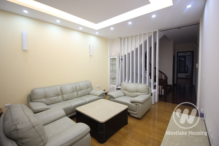 House rental with beautiful lakeview in Truc Bach, Ba Dinh