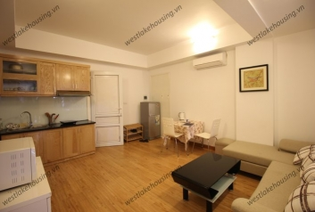 Bright and clean one bedroom apartment for rent in Ba Dinh, Hanoi