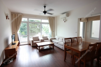 Lakeside two bedroom apartment for rent in Tay Ho, Hanoi