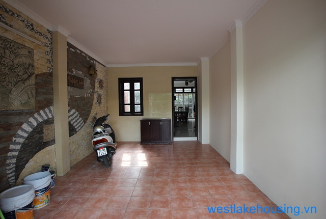Quiet and bright house for rent in Ciputra, Tay Ho, Ha Noi. Block D